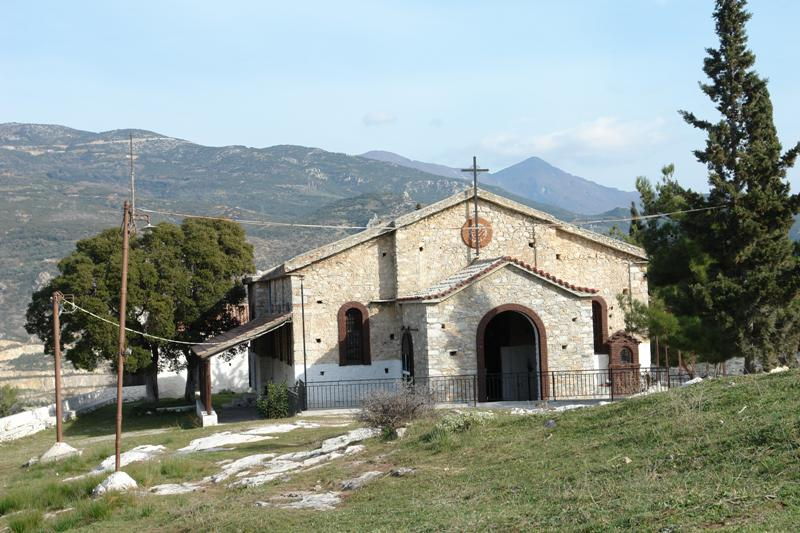 Ιερός Ναός Ζωοδόχου Πηγής Λόφου Γορίτσας