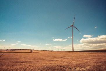 Austria Windmill in Retro Colors