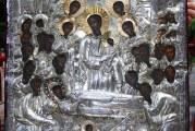Υποδοχή Ιεράς Εικόνος Παναγίας Άνω Ξενιάς στον Ναό του Αγίου Κωνσταντίνου