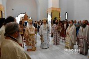 Αρχιερατικό Συλλείτουργο στον Ι.Ν. Αγίου Λουκά στα Λευκάκια (ΦΩΤΟ + Βίντεο)