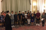 Visit of His Eminence Metropolitan Ignatius and Young Roma to the President of the Hellenic Republic