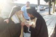 Λαμπρή υποδοχή του λειψάνου της Αγ. Αικατερίνης στον Ι. Ναό Πέτρου και Παύλου στη Ν. Ιωνία