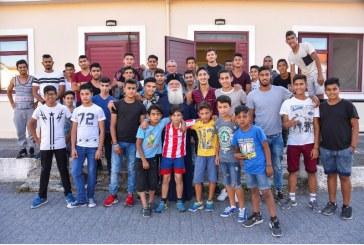 Επίσκεψη του Μητροπολίτου μας στην Ακαδημία Ποδοσφαίρου «ΔΗΜΗΤΡΙΑΣ»
