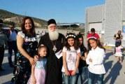 Κοντά στα προσφυγόπουλα του Βόλου ο Μητροπολίτης μας την Παγκόσμια Ημέρα Προσφύγων