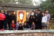 Επίσκεψη του Σεβ. Δημητριάδος κ.Ιγνατίου στα μαθήματα Αγιογραφίας στην Πορταριά