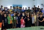 Με τα αγόρια του Λυκείου συναντήθηκε ο Μητροπολίτης μας στην κατασκήνωση του Αγίου Λαυρεντίου