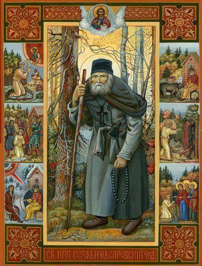 Πανηγυρίζει η Ιερά Μονή Οσίου Σεραφείμ του Σάρωφ – Πανηγύρεις Προφήτου Ηλιού