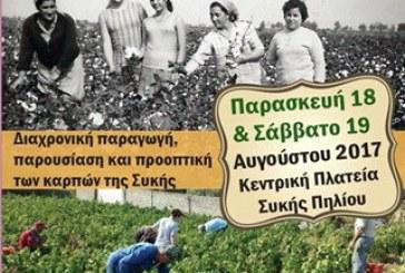 1η Γιορτή τοπικών προϊόντων στη Συκή