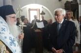Χαιρετισμός  Του Σεβ. Μητροπολίτου Δημητριάδος & Αλμυρού κ.κ. Ιγνατίου  Επί τη Υποδοχή του Εξοχωτάτου Προέδρου της Δημοκρατίας  κ κ. Προκόπη Παυλόπουλου  Στην παλαιά Ιερά Μονή Παναγίας Ξενιάς  17-8-2017