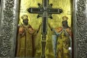 Ο Τίμιος Σταυρός του Κυρίου μας, στον Ιερό Ναό της Μεταμορφώσεως Βόλου(video)