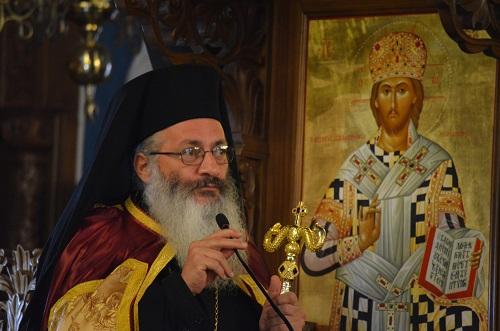 Στον Μητροπολιτικό μας Ναό ο Επίσκοπος Καρπασίας Χριστοφόρος
