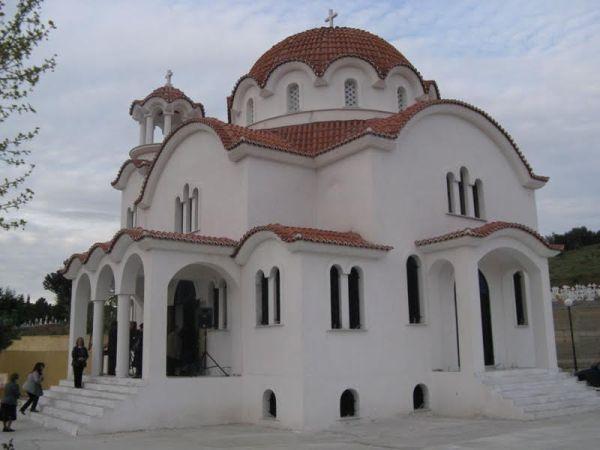 Εγκαινιάζεται ο Ναός του Αγίου Λαζάρου του Διαδημοτικού Κοιμητηρίου