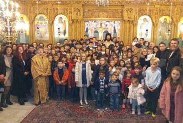 Κυριακάτικος εκκλησιασμός των παιδιών των κατηχητικών σχολείων της Αναλήψεως