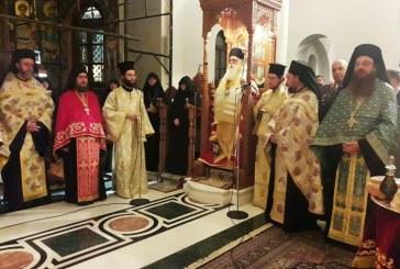 Δημητριάδος Ιγνάτιος: «Πρότυπα ζωής οι Άγγελοι» – Με θρησκευτική κατάνυξη ο Μέγας Εσπερινός στην Ι.Μονή Ταξιαρχών Πηλίου