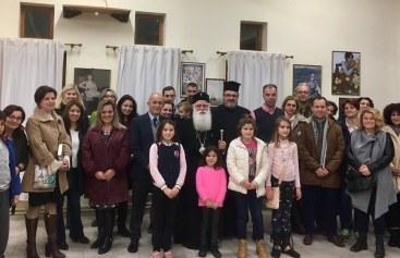 Σε σειρά εκλεκτών Χριστουγεννιάτικων εκδηλώσεων ο Σεβασμιώτατος
