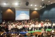 Τα μικρά παιδιά των κατηχητικών μας γιόρτασαν την λήξη του κατηχητικού έτους
