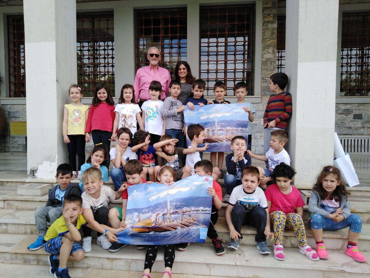 Τα παιδιά του Βρεφονηπιακού Σταθμού της Ιεράς Μητροπόλεως Δημητριάδος γνωρίζουν την Αργώ
