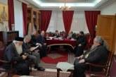 Kοινή Συνεδρίαση των Σεβασμιωτάτων Μητροπολιτών της Θεσσαλίας