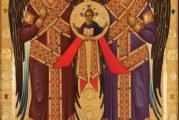 Υποδοχή της Ιεράς Εικόνος των Αρχαγγέλων Μιχαήλ και Γαβριήλ στην Ιερά Μονή Ταξιαρχών