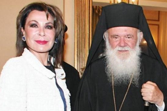 Η επικεφαλής του «Ελλάδα 2021» Γιάννα Αγγελοπούλου, στον Αρχιεπίσκοπο – Αναδημοσίευση από Orthodoxia.info