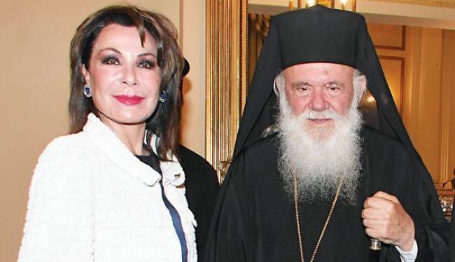 """Η επικεφαλής του """"Ελλάδα 2021"""" Γιάννα Αγγελοπούλου, στον Αρχιεπίσκοπο – Αναδημοσίευση από Orthodoxia.info"""
