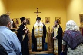 Δημητριάδος Ιγνάτιος: «Η μνήμη του Χριστοδούλου θα είναι πάντα ζωντανή σε όλους τους Έλληνες» – Τρισάγιο για τον Αρχιεπίσκοπο Χριστόδουλο στον Βόλο