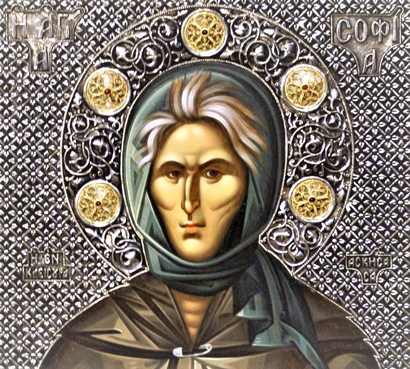 Στον Μητροπολιτικό μας Ναό το Ιερό Λείψανο της Οσίας Σοφίας της Κλεισούρας