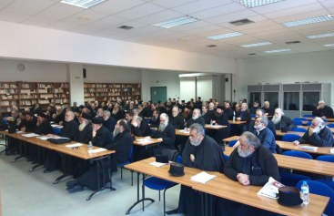 Οι καρποί του Αγίου Πνεύματος στην ζωή της Εκκλησιαστικής κοινότητας – Πραγματοποιήθηκε η Δ΄ Ιερατική σύναξη της Ι.Μ. Δημητριάδος