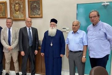 Επίσκεψη του Πρέσβη του Ισραήλ στον Σεβ. Ποιμενάρχη μας κ. Ιγνάτιο