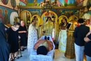 Ο Σεβ. Δημητριάδος κ.Ιγνάτιος στην εξόδιο ακολουθία του μακαριστού π.Ιωάννη Σαρρή