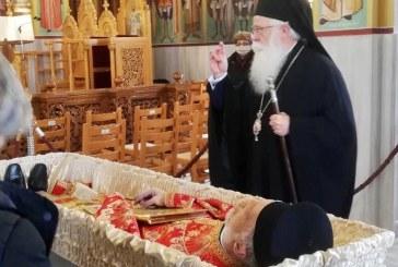 Η Εκκλησία της Δημητριάδος αποχαιρέτησε τον π. Βάιο Τακούμη