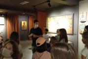Στο Βυζαντινό Μουσείο Μακρινίτσας, το 1ο Πειραματικό Δημοτικό Σχολείο Πορταριάς