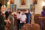 Επίσκεψη της Υπουργού Πολιτισμού στην Μονή Οσίου Λαυρεντίου Πηλίου