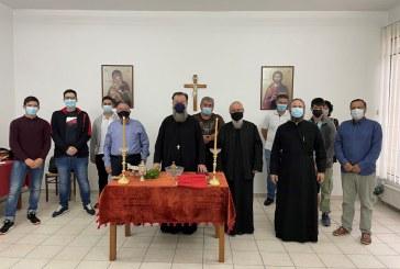 Αγιασμός στην Σχολή Βυζαντινής Μουσικής στον Αλμυρό